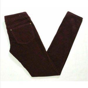 FREE PEOPLE Corduroy Skinny Leg Jeans 2683E1M